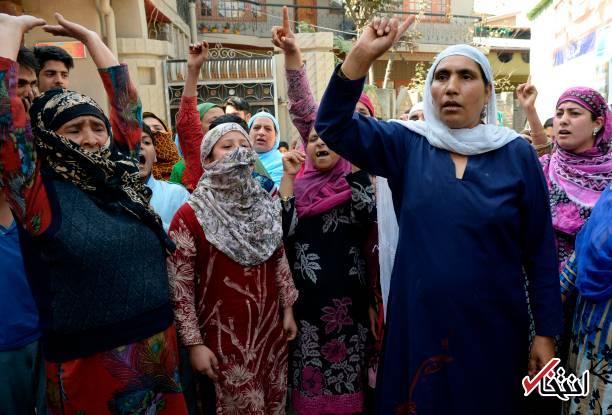 بحران در کشمیر؛ گیس زنان در خواب بریده میشود!6