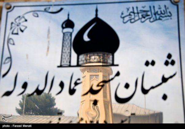 مسجد عماد الدولة التاريخي في كرمانشاه الايرانية6