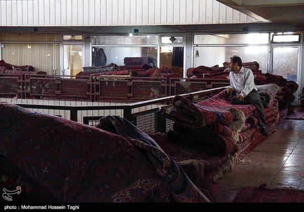 سوق السجاد في مدينة مشهد 6