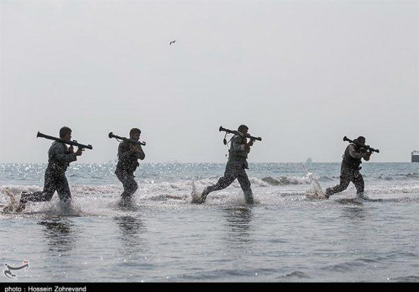 تدريبات مغاوير بحرية الجيش الايراني6