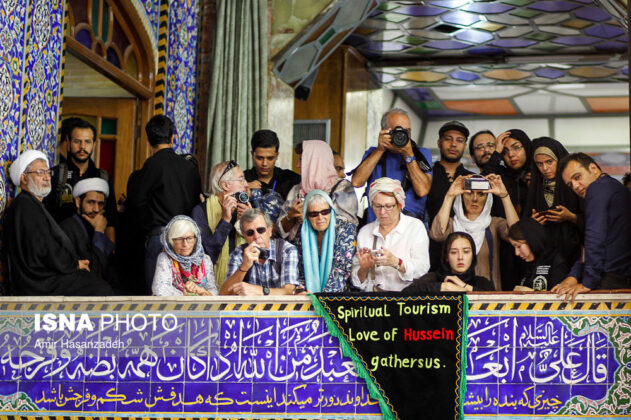 Iran Holds Special Tour of Mourning Ceremonies for Foreigners7