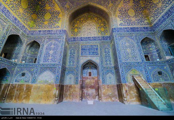 مسجد الامام في اصفهان 7