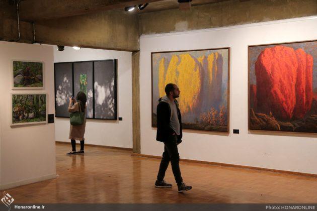 افتتاح نمایشگاه آثار نقاشی70 سال اخیر در فرهنگسرای نیاوران7