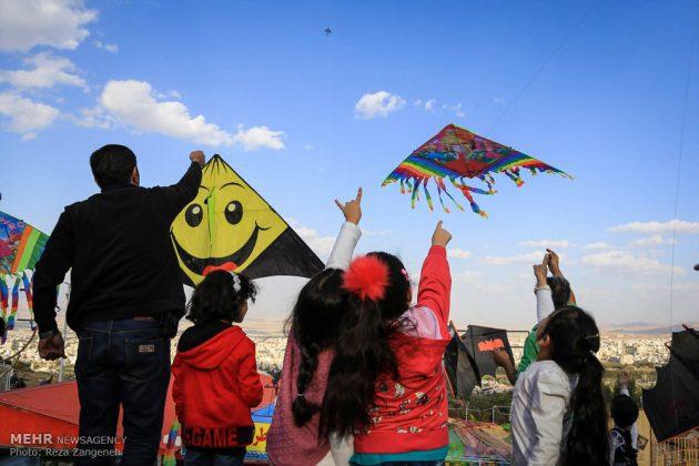 احتفال الطائرات الورقية في همدان الايرانية 7