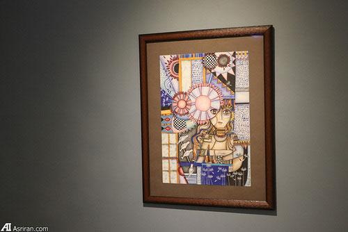برگزاری نمایشگاه نقاشی سه خواهر افغان در تهران7