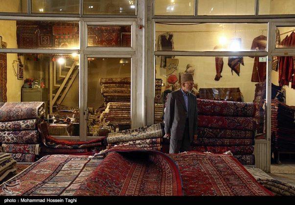 سوق السجاد في مدينة مشهد 7