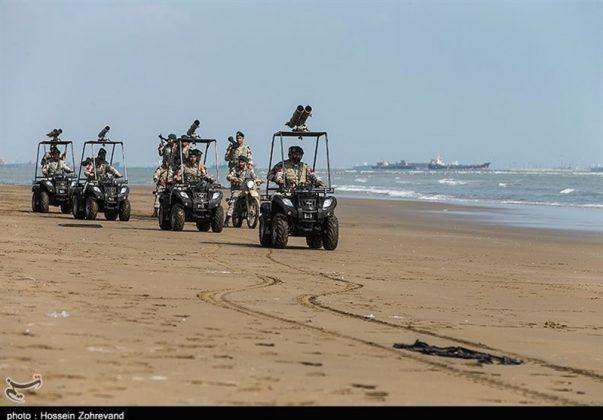 تدريبات مغاوير بحرية الجيش الايراني7