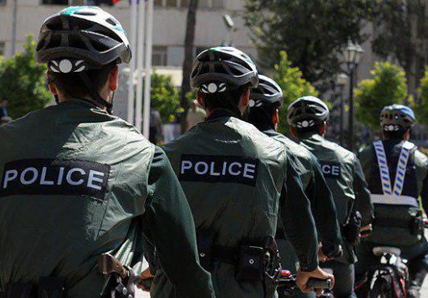 Tehran Police Forcers to Use Bicycle for Daily Missions