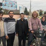 سفر زوج دوچرخهسوار آلمانی به ایران