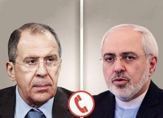 """ظريف ولافروف يبحثان قمة الزعماء """"روحاني وبوتين وعلييف"""""""
