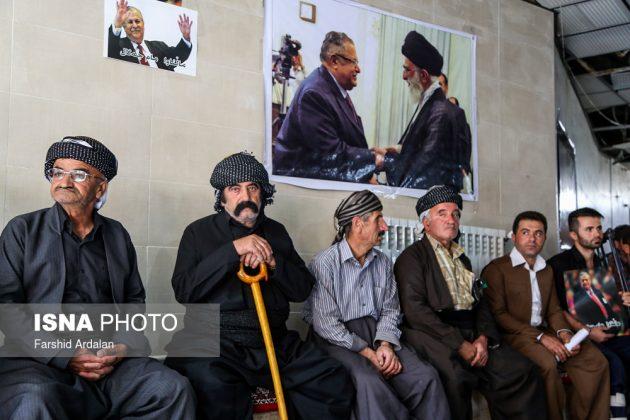مجلس تأبين الرئیس العراقي الراحل في ايران8