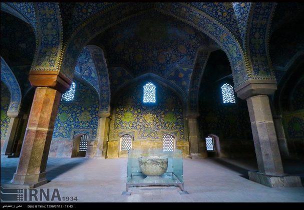 مسجد الامام في اصفهان 8