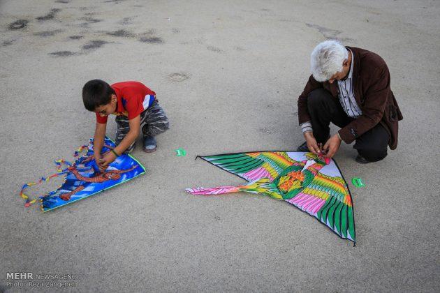 احتفال الطائرات الورقية في همدان الايرانية 8