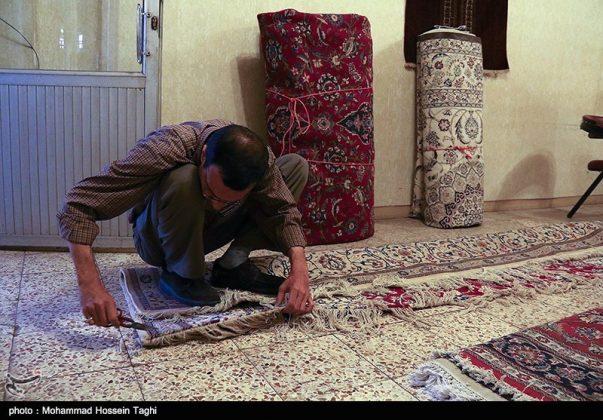 سوق السجاد في مدينة مشهد 8