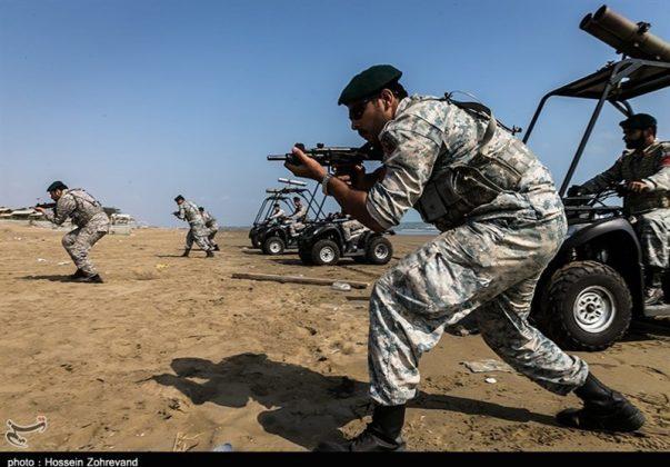 تدريبات مغاوير بحرية الجيش الايراني8