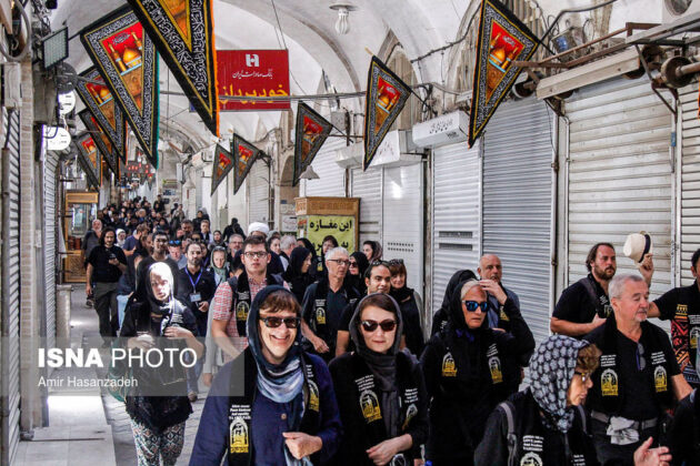 Iran Holds Special Tour of Mourning Ceremonies for Foreigners9