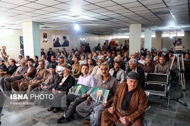 مجلس تأبين الرئیس العراقي الراحل في ايران9