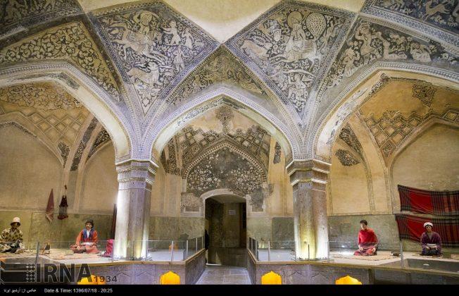 حمام الوکيل في مدينة شيراز9