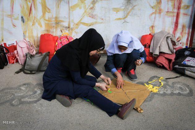 احتفال الطائرات الورقية في همدان الايرانية 9