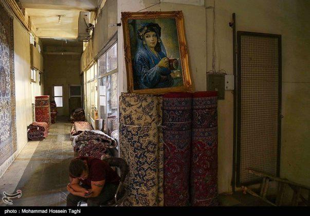 سوق السجاد في مدينة مشهد 9