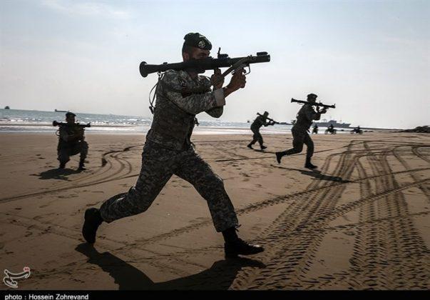 تدريبات مغاوير بحرية الجيش الايراني9