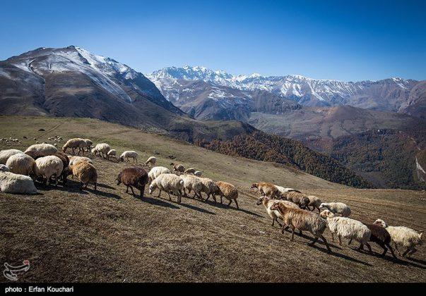مرتفعات مازيجال الساحرة في ايران 9