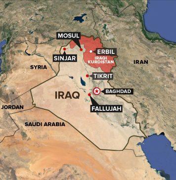 نقشه کردستان