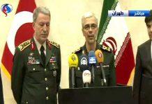 ايران وتركيا تتخذان قرارات هامة حول مكافحة الارهاب على الحدود