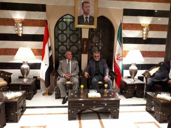 رئيس لجنة الامن البرلمانية الايرانية يصل الى دمشق