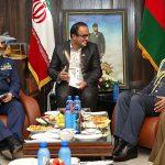 قائد القوات الجوية للجيش الإيراني يلتقي نظيره العماني بطهران