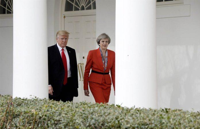 رئيسة وزراء بريطانيا تؤكد لترامب 'الأهمية البالغة' للاتفاق النووي مع إيران