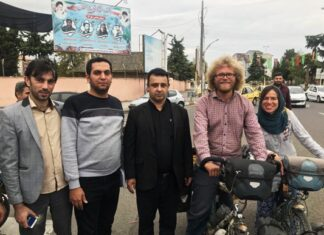 German Couple Takes Cycling Trip to Iran