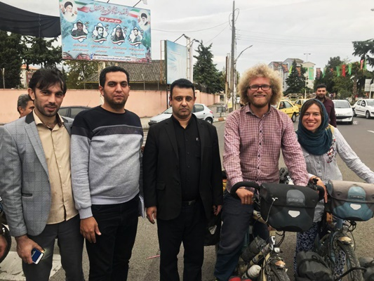 German Couple Takes Cycling Trip to Iran