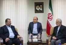 مسؤول ايراني .. زياره مسوولي حماس لايران تفند شعار الهلال الشيعي