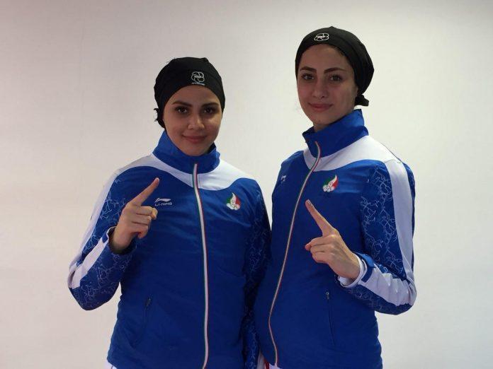 فريق نسوي ايراني يحرز ذهبية وفضية بطولة العالم للكاراتيه