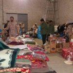 القافلة الايرانية للمساعدات الانسانية تصل مدينة حلب