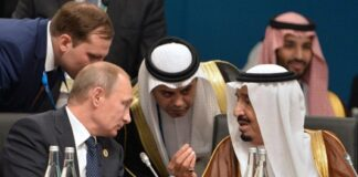 Putin Rejects Saudi King's Demand for Putting Pressure on Iran