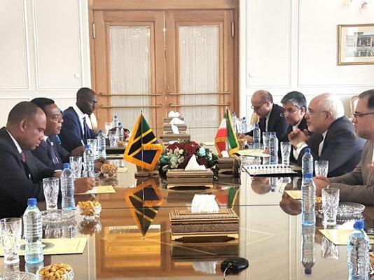 Iranian, Tanzanian FMs Hold Talks in Tehran