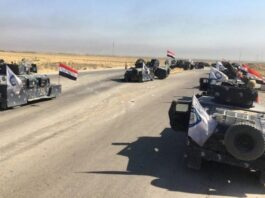 Iraqis Celebrate Recapture of Kirkuk from Kurds
