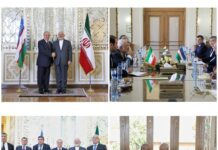 Iran, Uzbekistan Discuss Promotion of Ties in All Fields