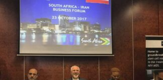 Iran, South Africa Hold Business Forum in Pretoria