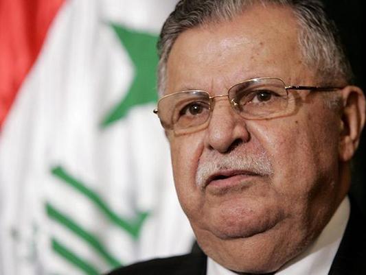 Former Iraqi President Talabani dies at 83