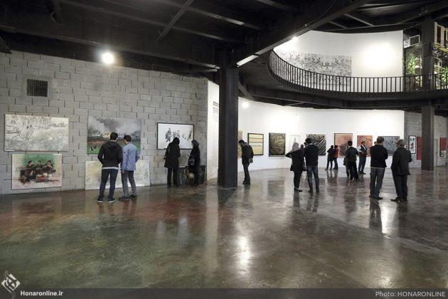 برگزاری نمایشگاه هنرهای تجسمی برای کمک به زلزلهزدگان-1 (10)