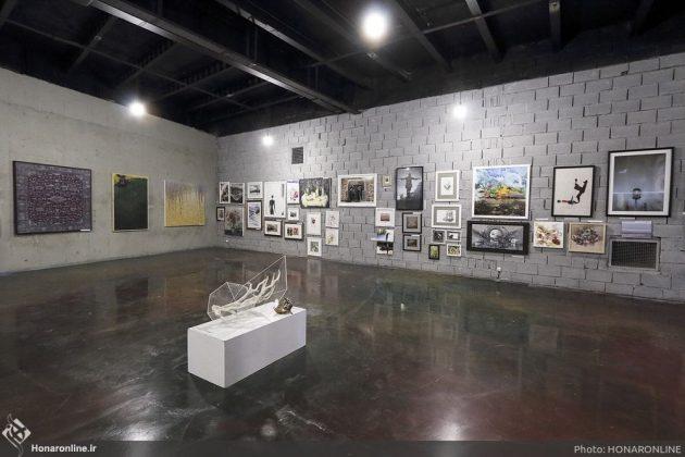 برگزاری نمایشگاه هنرهای تجسمی برای کمک به زلزلهزدگان-1 (11)