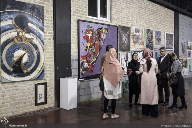 برگزاری نمایشگاه هنرهای تجسمی برای کمک به زلزلهزدگان-1 (12)