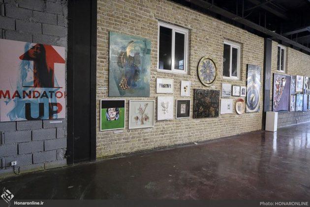 برگزاری نمایشگاه هنرهای تجسمی برای کمک به زلزلهزدگان-1 (2)