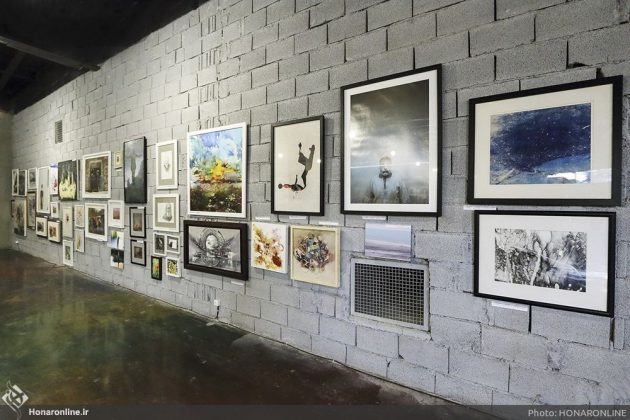 برگزاری نمایشگاه هنرهای تجسمی برای کمک به زلزلهزدگان-1 (5)