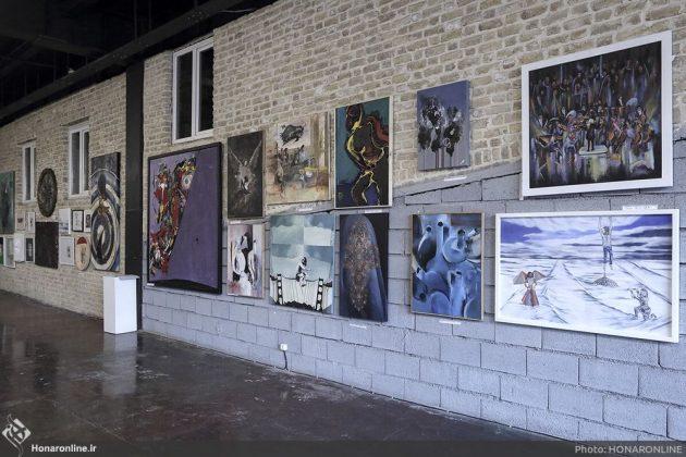 برگزاری نمایشگاه هنرهای تجسمی برای کمک به زلزلهزدگان-1 (7)