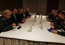 رئيس هيئة الاركان الايراني يلتقي نظيره الروسي