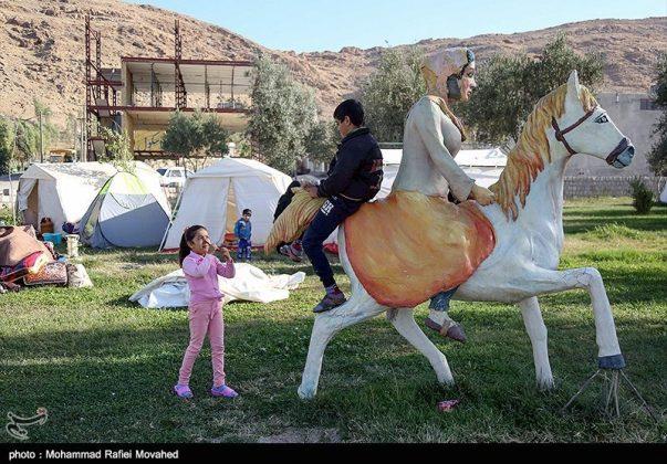 فرشتههای زمینی در ویرانههای کرمانشاه (5)